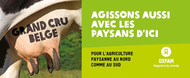 Oxfam défend l'agriculture d'ICI