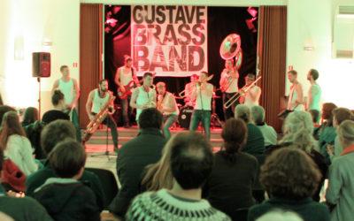 Superbe soirée avec le Gustave Brass Band