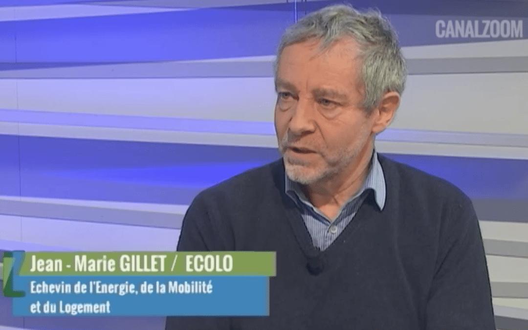 Jean-Marie Gillet, l'invité politique de Canal Zoom