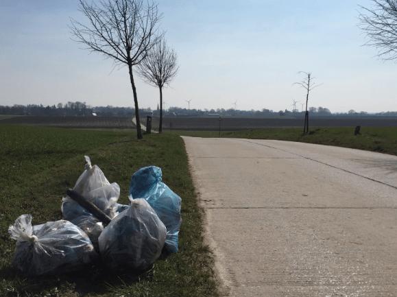 Petit bilan du Grand nettoyage de printemps à Walhain