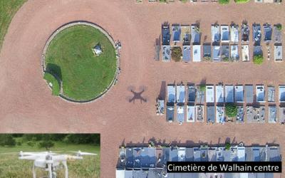 Acquisition d'un drone pour survoler la commune de Walhain