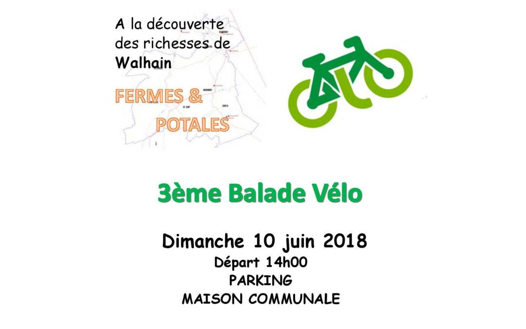Troisième balade vélo autour de Walhain