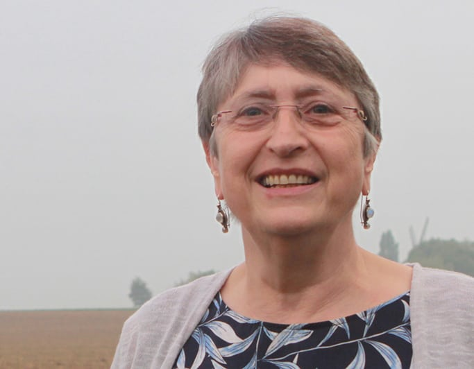 Agnès Namurois est candidate à la Province