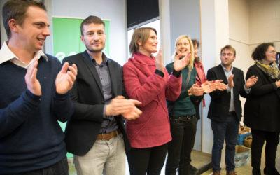 Les têtes de liste d'ECOLO Brabant wallon