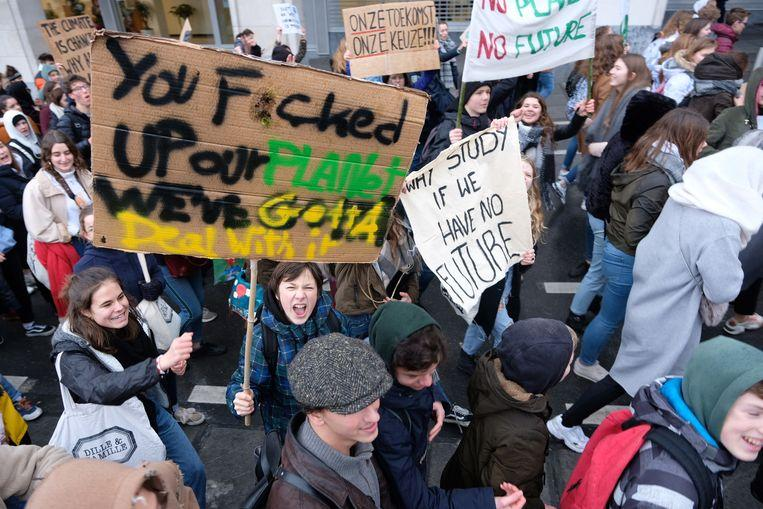 Marche européenne pour le climat – 27 janvier à BXL