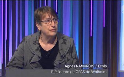 Agnes Namurois invitée de Canal Zoom